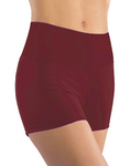 Booty Shorts - Burgundy Solid