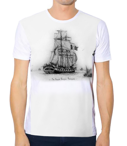 Unisex Tech Tee - GM The French Barque Pornesse
