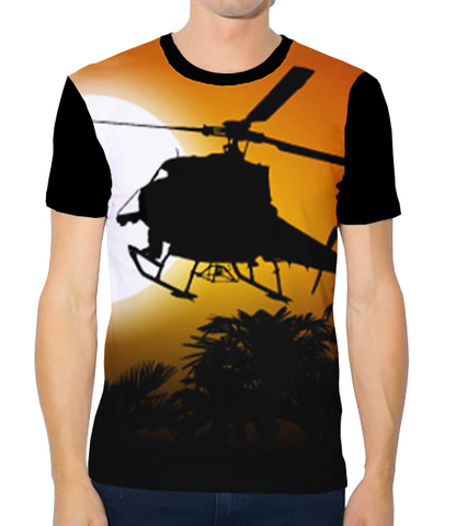 Unisex Tech Tee - Jungle Chopper