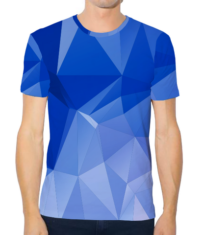Unisex Athleisure Tee - Icicle Blue