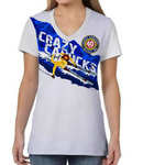 Unisex Athleisure Tee - Crazy Canucks