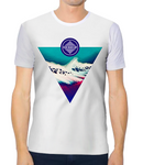 Unisex Tech Tee - JW Triangle Turquoise Shallows