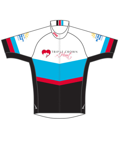 Triple Crown For Heart - 10th Anniversary Edition - Cycling Jersey - Short Slv