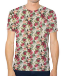 Unisex Tech Tee - Hibiscus Hawaiian Pattern