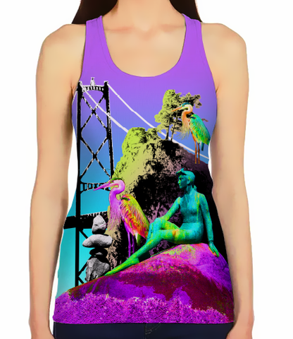Van Bridge - Female Racerback Tank