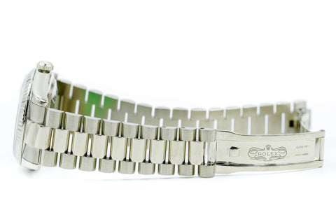 Rolex 118239 Day-Date 36 President White Gold Box & Papers