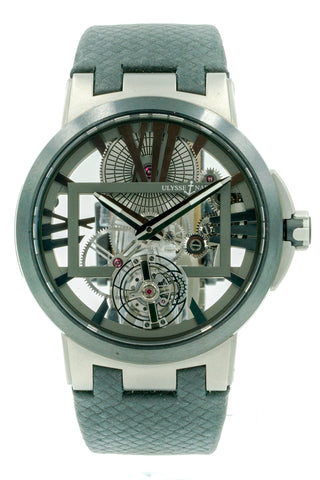 Ulysse Nardin Executive Skeleton Tourbillon 1713-139 Titanium