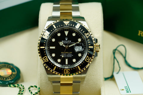 Rolex Sea-Dweller 126603 Two-Tone YG 2019 Unworn