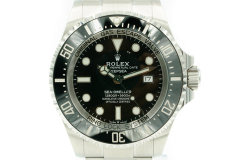 Rolex Sea-Dweller Deepsea Black 44mm 126660