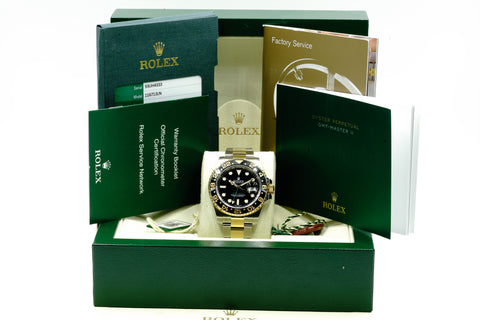 Rolex GMT-Master II 116713LN 40mm 2016