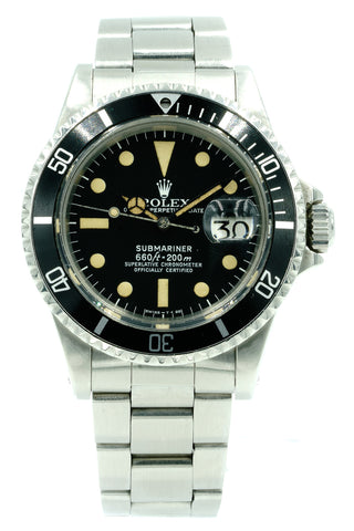 Rolex Submariner Date 1680 Pumpkin Dial & Hands