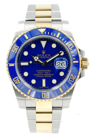 Rolex Submariner Date 116613LB Smurf Blue Two-Tone