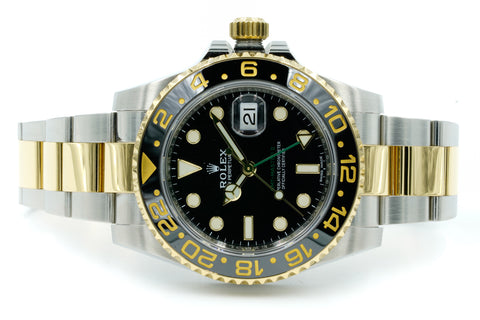 Rolex GMT-Master II 116713 Two Tone Black 2018