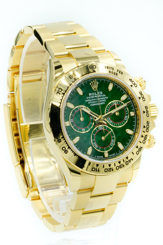 Rolex Daytona Green Dial 116508 40mm 2019 BNIB
