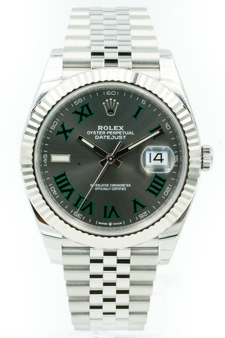 2019 Rolex Datejust 41mm126334 Green Roman