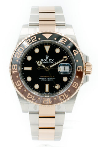 2019 Rolex GMT-Master II Root Beer 126711CHNR Stickered