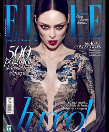 5.9.12 Jessica Winzelberg on Coco Rocha in Elle Brazil June 2012