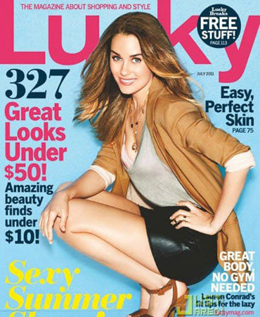 6.1.11  Jessica Winzelberg in Lucky Magazine July 2011