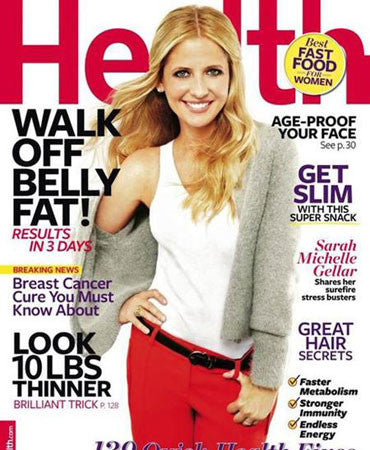 9.1.11  Jessica Winzelberg in Health Magazine October 2011