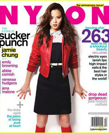 3.22.2011  Jessica Winzelberg Jewelry in Nylon Magazine April 2011