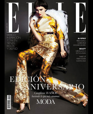 9.1.12 Jessica Winzelberg in Elle Mexico September 2012