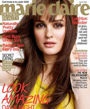 3.15.12 Jessica Winzelberg in Marie Claire April 2012