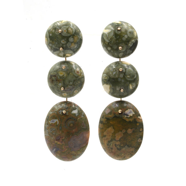Mobile Earrings Rhyolite