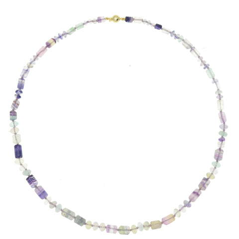 Beaded Fluorite Necklace