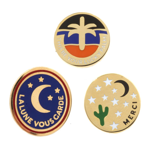 Enamel Prayer Pin Set