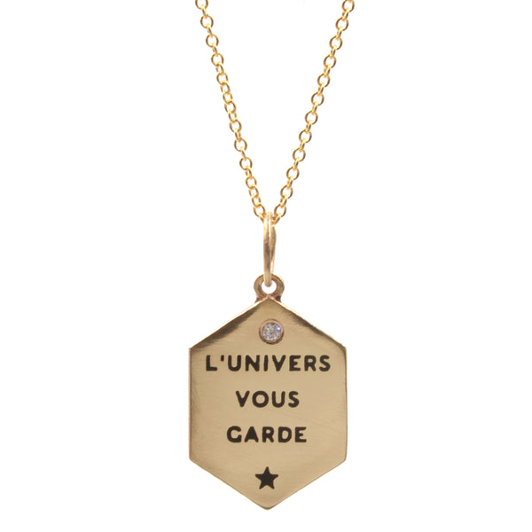 L'Univers Vous Garde Necklace