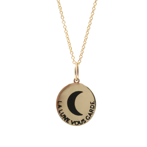 RTS La Lune Vous Garde Necklace