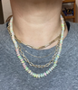 Large Beaded Ethiopian Opal Necklace