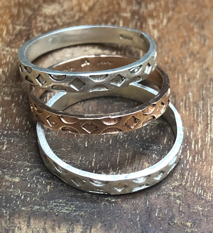 Carved Band Ring SS19