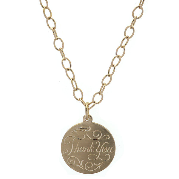Please and Thank You Prayer Necklace
