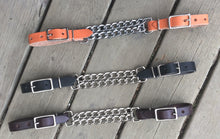 Curb chains available in Brown, Black, Natural and Chestnut (not shown)