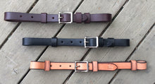 Leather straps available in Brown, Black, Natural and Chestnut (not shown)
