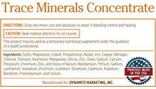 Trace Mineral Concentrate