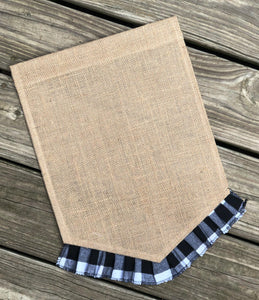 Buffalo Plaid Garden Flag