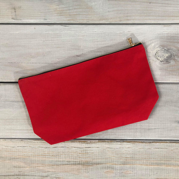 Large Blank Cosmetic Bags