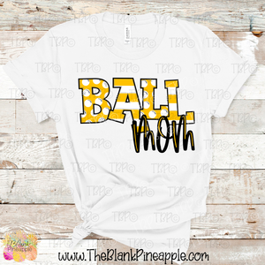Ball Mom Sublimation Design PNG