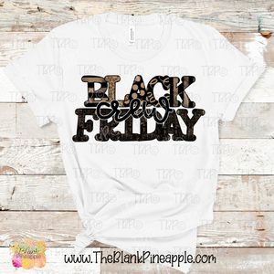 Black Friday Crew Sublimation Design PNG
