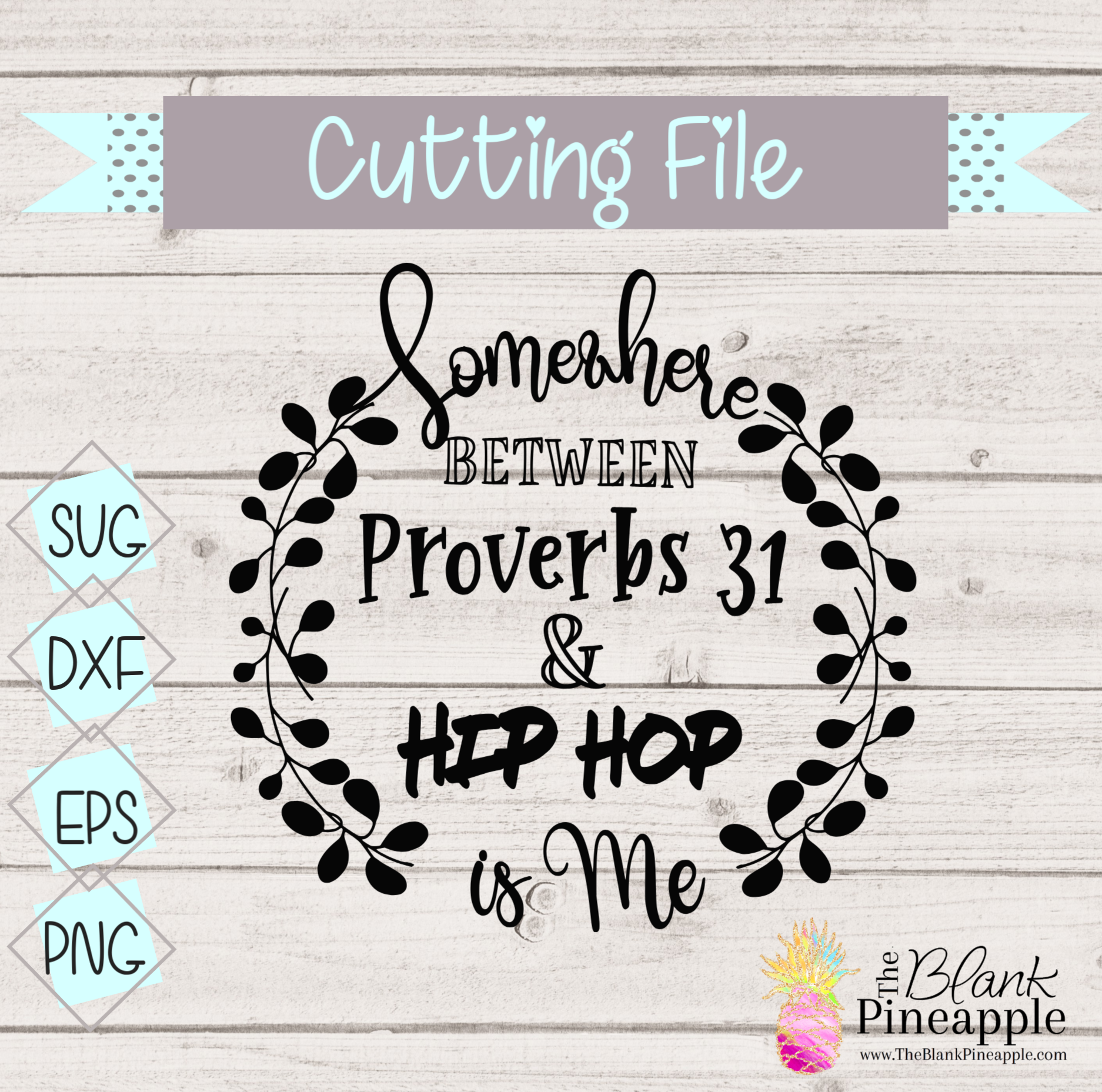CUT FILE - Somewhere between Proverbs & Hip Hop is me