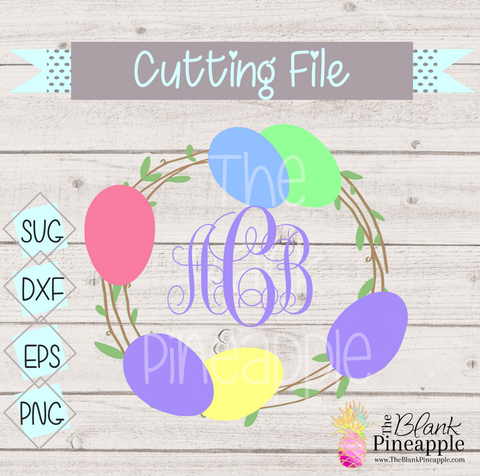 Easter Cut File for Cricut and Silhouette