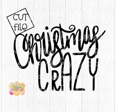 Christmas Crazy SVG