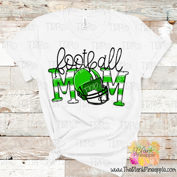Football Mom Sublimation Design PNG