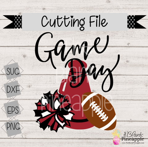 CUT FILE - Football Game Day Cheer