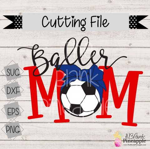 Soccer Cut File for Cricut and Silhouette