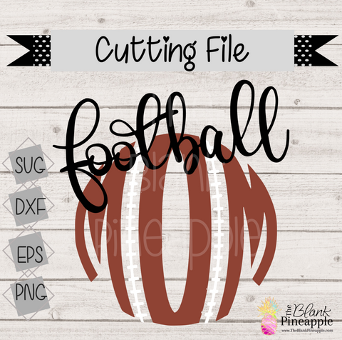 CUT FILE - Round Football Mom