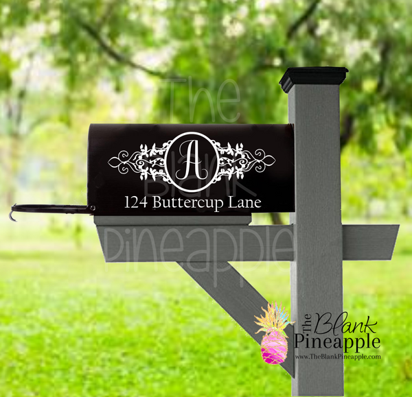 CUT FILE - Personalized Mailbox Design #2