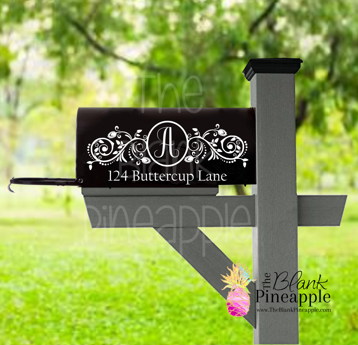 CUT FILE - Personalized Mailbox Design #3